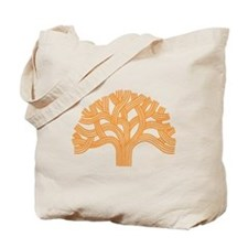 Oakland Tree Orange Tote Bag