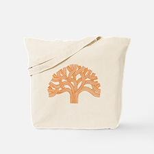 Oakland Tree Orange Tote Bag