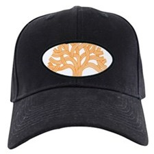 Oakland Tree Orange Baseball Hat