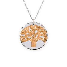 Oakland Tree Orange Necklace