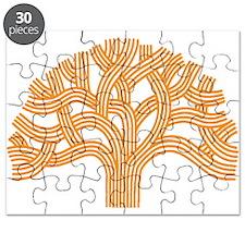 Oakland Tree Orange Puzzle