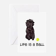 Affenpinscher Life Greeting Card