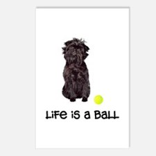 Affenpinscher Life Postcards (Package of 8)