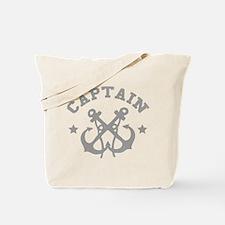 Vintage Captain Tote Bag
