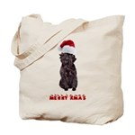 Affenpinscher Christmas Tote Bag