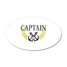 Captain 22x14 Oval Wall Peel