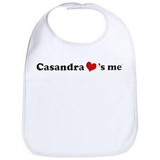 Casandra loves me Bib