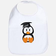 Custom Graduation Penguin Bib