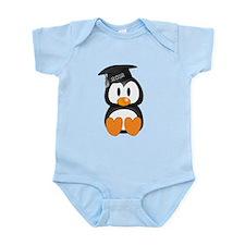 Custom Graduation Penguin Infant Bodysuit