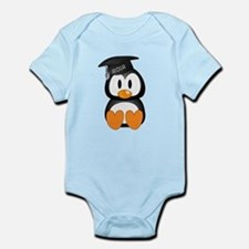 Custom Graduation Penguin Infant Bodysuit
