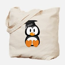 Custom Graduation Penguin Tote Bag