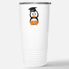 Custom Graduation Penguin Stainless Steel Travel M