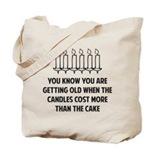 Birthday Candles Tote Bag