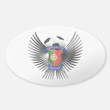 Portugal 2012 Soccer Champions Sticker (Oval)
