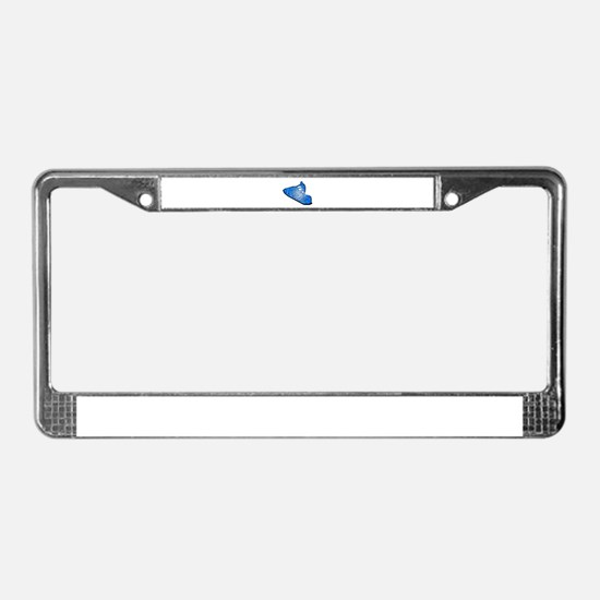 HAPPY MACHINE License Plate Frame