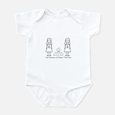 LGBT 2 Mommies Infant Bodysuit