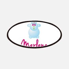 Marlene the snow woman Patches