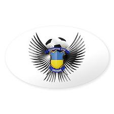 Ukraine 2012 Soccer Champions Decal