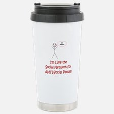 Anti-Social Network Travel Mug