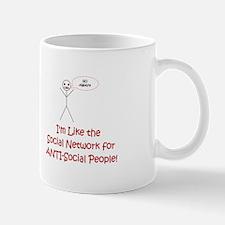 Anti-Social Network Mug
