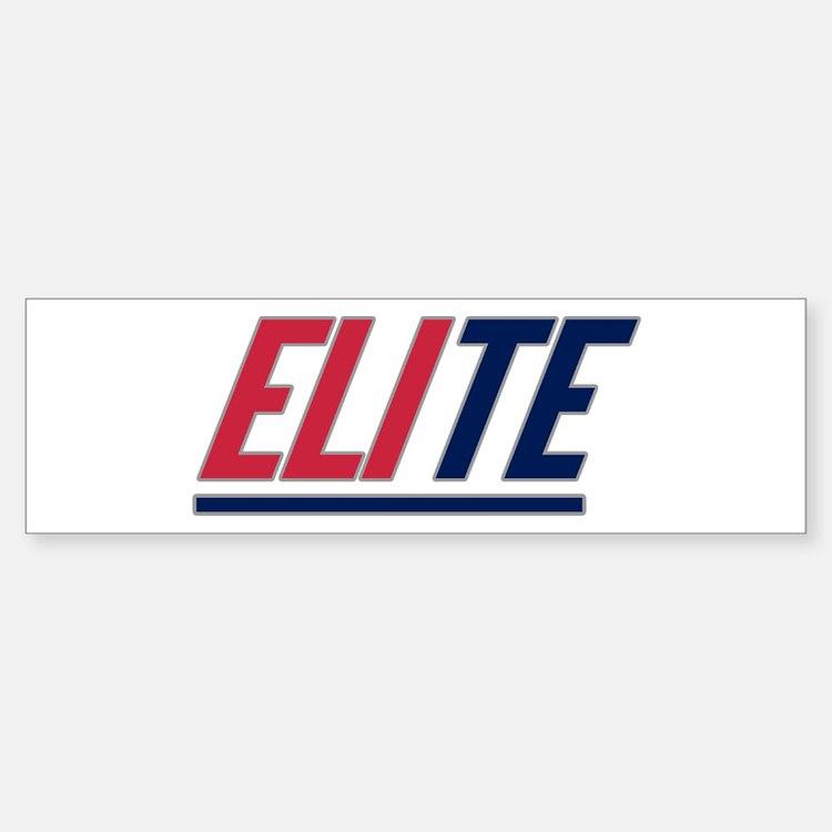 ELIte Bumper Bumper Sticker