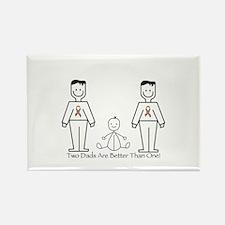2 Dads (LGBT) Rectangle Magnet