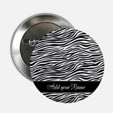 "Add NAME Zebra Stripes 2.25"" Button"