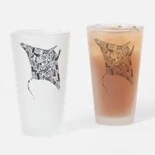Unique Sting ray Drinking Glass