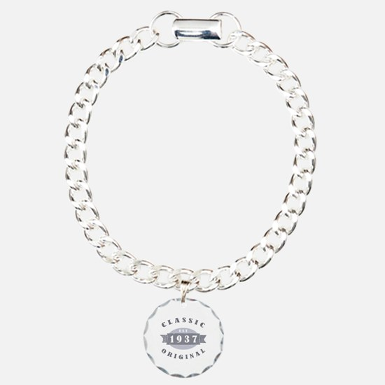 1937 Classic Original Charm Bracelet, One Charm