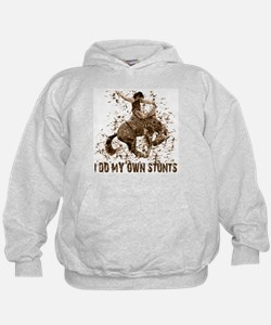 Bronco Rodeo Cowboy, Stunts Hoody