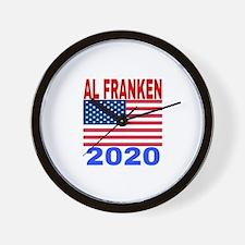 AL FRANKEN 2020 Wall Clock
