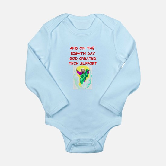 teachers Long Sleeve Infant Bodysuit