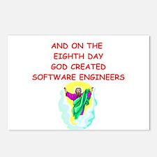 software engineers Postcards (Package of 8)