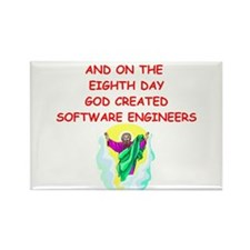 software engineers Rectangle Magnet