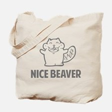 Nice Beaver Tote Bag