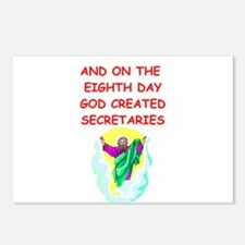 secretaries Postcards (Package of 8)