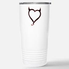 Heart of Satan Stainless Steel Travel Mug