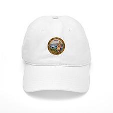 Seal of California Baseball Baseball Cap