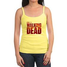 The Walking Dead Blood Logo Ladies Top