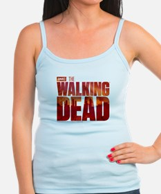 The Walking Dead Blood Logo Ladies Top