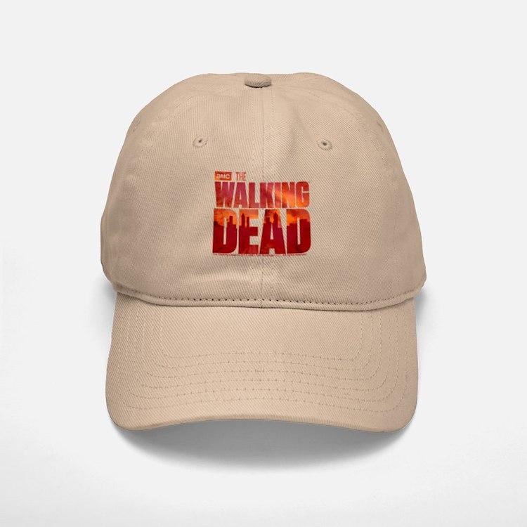 The Walking Dead Blood Logo Baseball Baseball Cap
