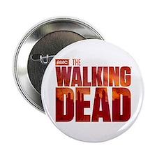 """The Walking Dead Blood Logo 2.25"""" Button"""