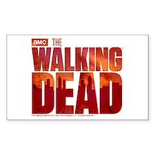 The Walking Dead Blood Logo Sticker