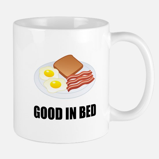Good In Bed Bacon Eggs Mugs