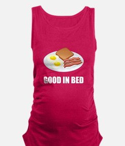 Good In Bed Bacon Eggs Tank Top