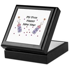 Baby's First New Year Keepsake Box