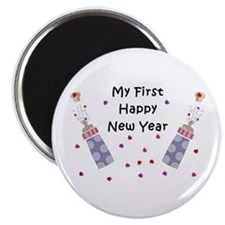 Baby's First New Year Magnet