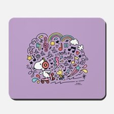 Peanuts Back to School Mousepad