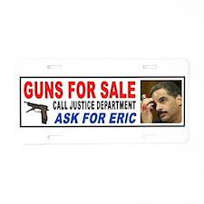 GET FURIOUS Aluminum License Plate