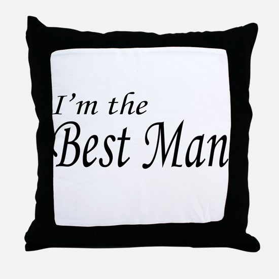 I'm the Groom Throw Pillow